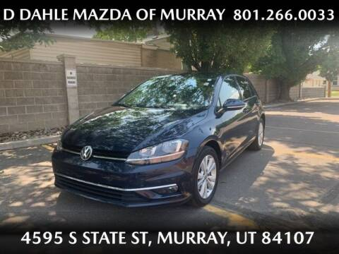 2018 Volkswagen Golf for sale at D DAHLE MAZDA OF MURRAY in Salt Lake City UT