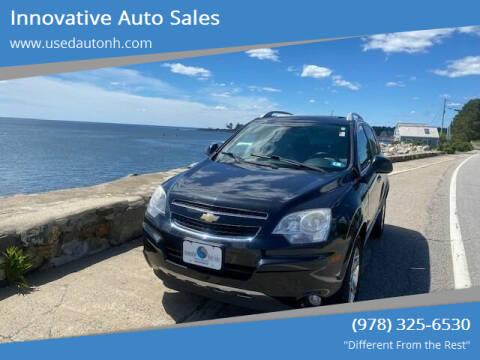 2012 Chevrolet Captiva Sport for sale at Innovative Auto Sales in North Hampton NH