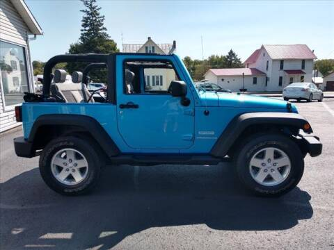 2010 Jeep Wrangler for sale at VILLAGE SERVICE CENTER in Penns Creek PA