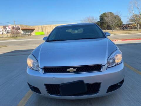 2013 Chevrolet Impala for sale at Dynasty Auto in Dallas TX