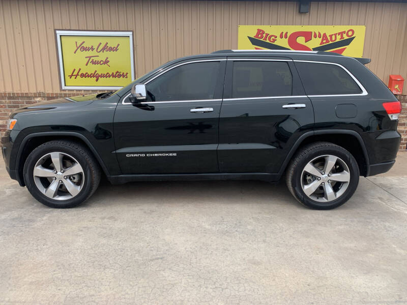 2014 Jeep Grand Cherokee for sale at BIG 'S' AUTO & TRACTOR SALES in Blanchard OK