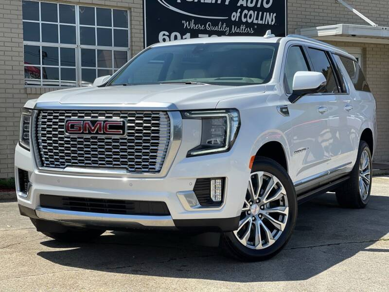 2021 GMC Yukon XL for sale at Quality Auto of Collins in Collins MS