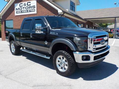 2012 Ford F-250 Super Duty for sale at C & C MOTORS in Chattanooga TN