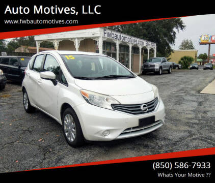 2015 Nissan Versa Note for sale at Auto Motives, LLC in Fort Walton Beach FL