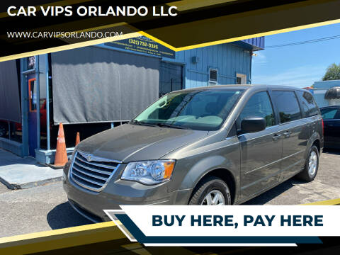 2010 Chrysler Town and Country for sale at CAR VIPS ORLANDO LLC in Orlando FL