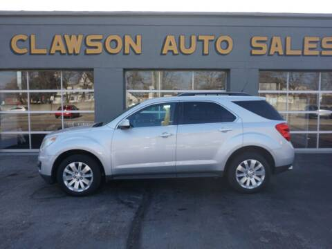 2011 Chevrolet Equinox for sale at Clawson Auto Sales in Clawson MI