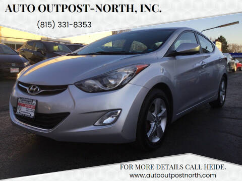 2013 Hyundai Elantra for sale at Auto Outpost-North, Inc. in McHenry IL