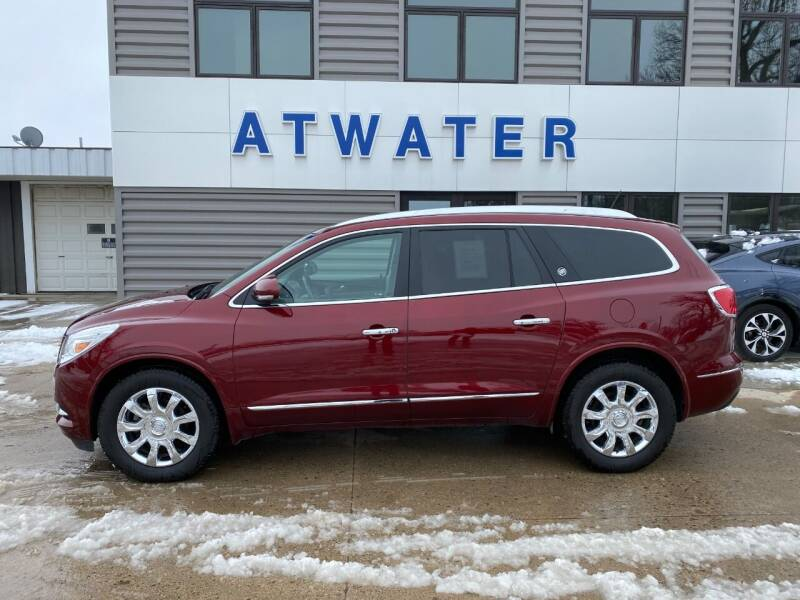 2017 Buick Enclave for sale at Atwater Ford Inc in Atwater MN