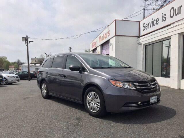 2017 Honda Odyssey for sale at Bay Motors Inc in Baltimore MD