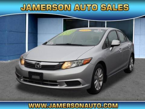 2012 Honda Civic for sale at Jamerson Auto Sales in Anderson IN