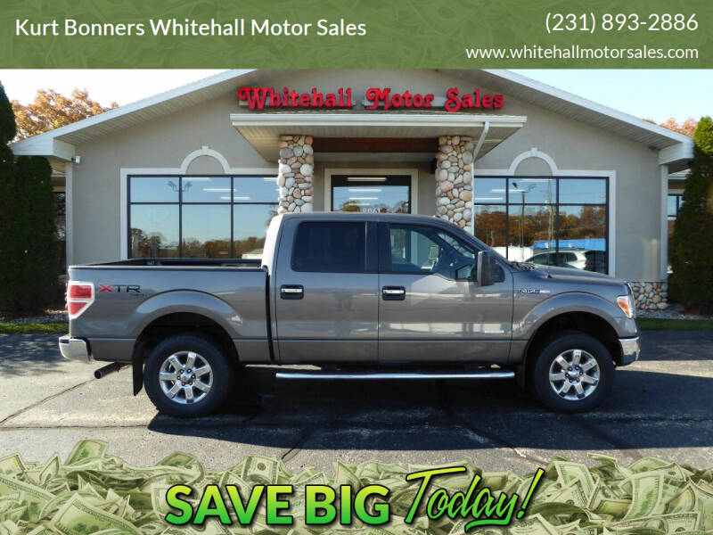 2013 Ford F-150 for sale at Kurt Bonners Whitehall Motor Sales in Whitehall MI