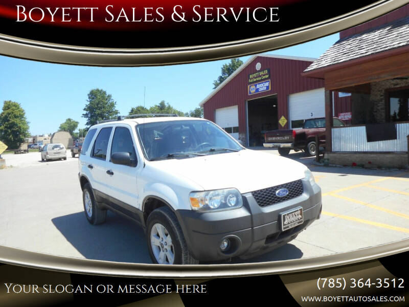 2006 Ford Escape for sale at Boyett Sales & Service in Holton KS