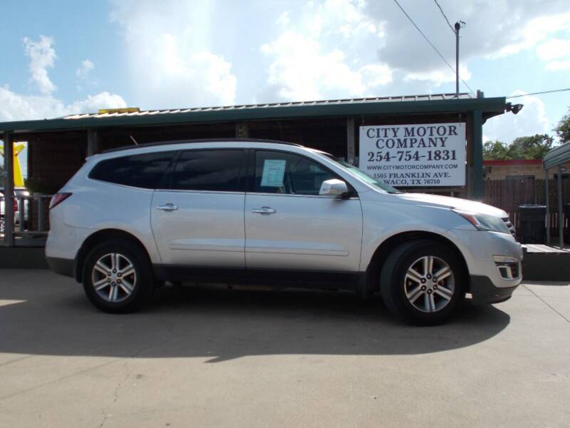 2015 Chevrolet Traverse for sale at CITY MOTOR COMPANY in Waco TX