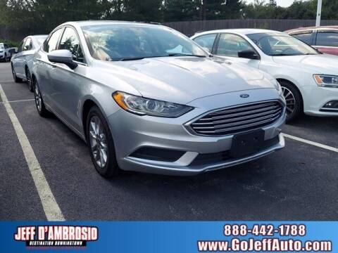 2017 Ford Fusion for sale at Jeff D'Ambrosio Auto Group in Downingtown PA