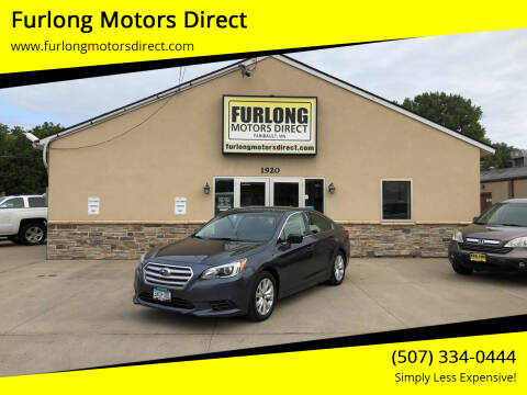 2017 Subaru Legacy for sale at Furlong Motors Direct in Faribault MN