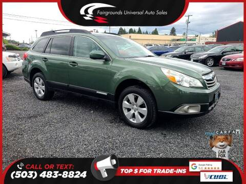 2012 Subaru Outback for sale at Universal Auto Sales in Salem OR