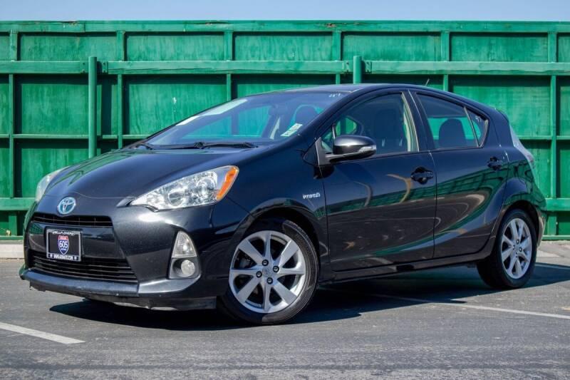 2012 Toyota Prius c for sale at 605 Auto  Inc. in Bellflower CA