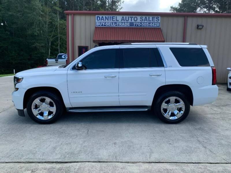 2015 Chevrolet Tahoe for sale at Daniel Used Auto Sales in Dallas GA