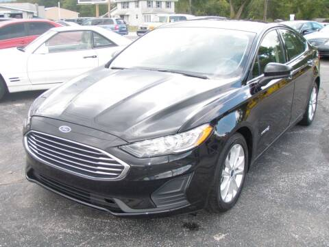 2019 Ford Fusion Hybrid for sale at Autoworks in Mishawaka IN