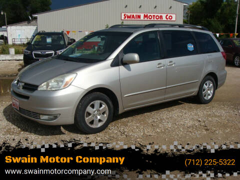 2005 Toyota Sienna for sale at Swain Motor Company in Cherokee IA