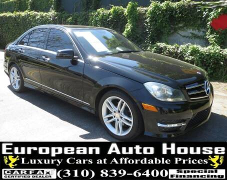 2014 Mercedes-Benz C-Class for sale at European Auto House in Los Angeles CA