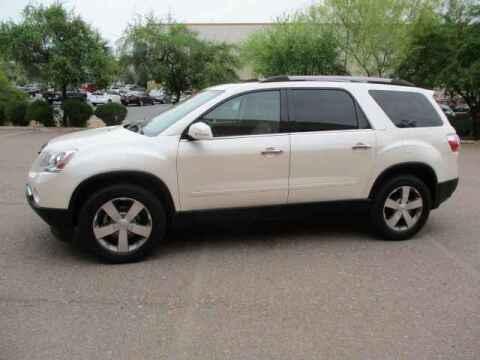 2012 GMC Acadia for sale at Corporate Auto Wholesale in Phoenix AZ