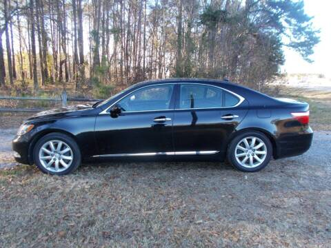 2009 Lexus LS 460 for sale at A & P Automotive in Montgomery AL