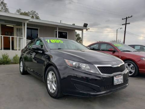 2011 Kia Optima for sale at First Shift Auto in Ontario CA