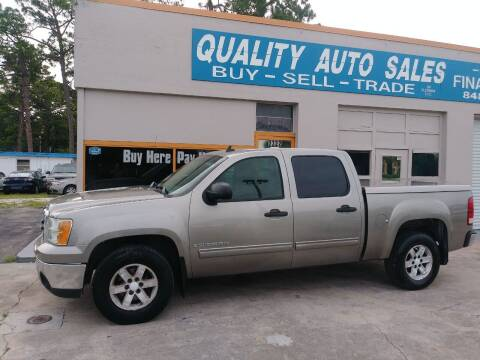 2007 GMC Sierra 1500 for sale at QUALITY AUTO SALES OF FLORIDA in New Port Richey FL