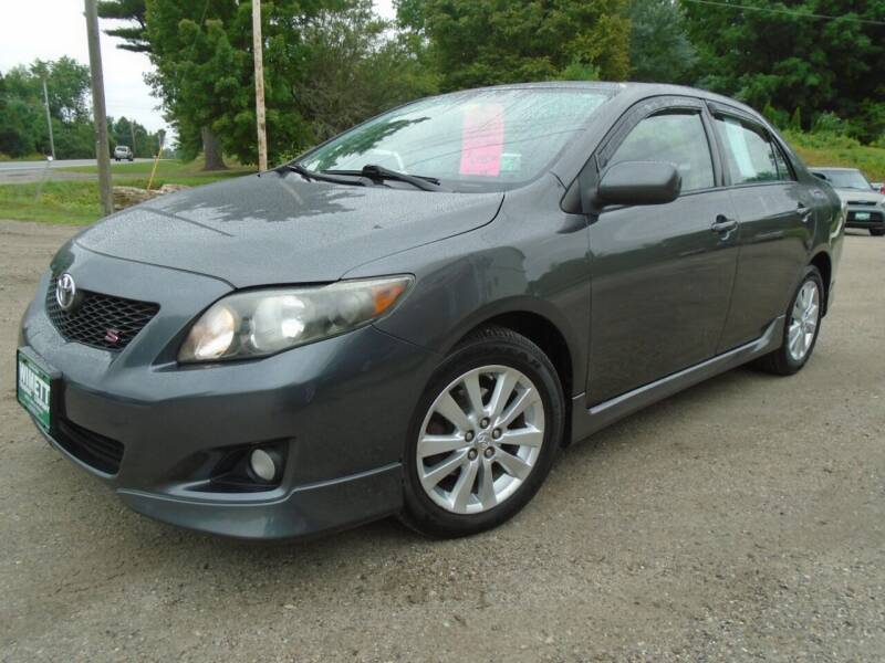 2010 Toyota Corolla for sale at Wimett Trading Company in Leicester VT