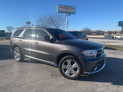 2014 Dodge Durango for sale at Revolution Motors LLC in Wentzville MO