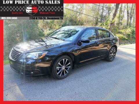 2011 Chrysler 200 for sale at Low Price Autos in Beaumont TX