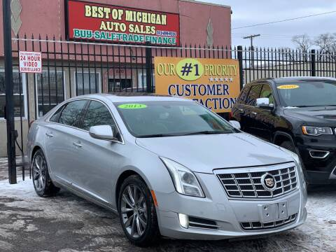 2013 Cadillac XTS for sale at Best of Michigan Auto Sales in Detroit MI