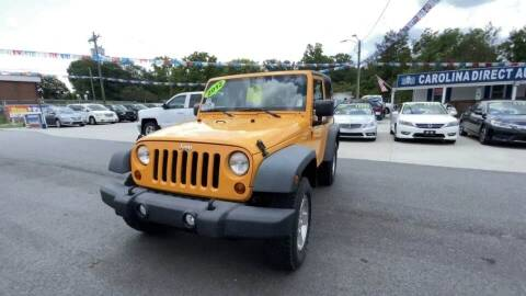 2012 Jeep Wrangler for sale at Cj king of car loans/JJ's Best Auto Sales in Troy MI