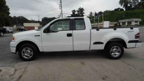 2008 Ford F-150 for sale at G AND J MOTORS in Elkin NC