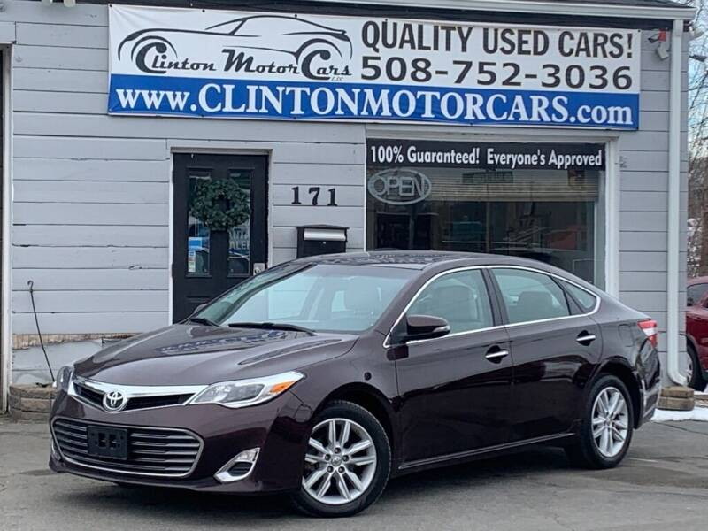 2014 Toyota Avalon for sale at Clinton MotorCars in Shrewsbury MA