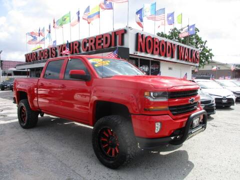 2018 Chevrolet Silverado 1500 for sale at Giant Auto Mart 2 in Houston TX