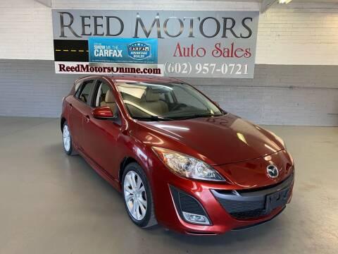 2011 Mazda MAZDA3 for sale at REED MOTORS LLC in Phoenix AZ
