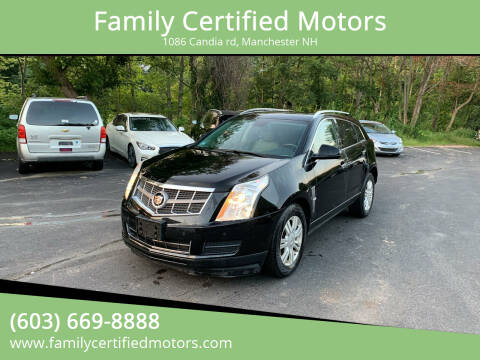 2012 Cadillac SRX for sale at Family Certified Motors in Manchester NH