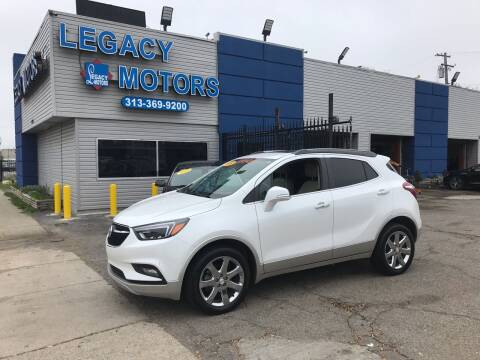 2017 Buick Encore for sale at Legacy Motors in Detroit MI