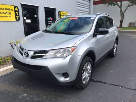 2014 Toyota RAV4 for sale at FLORIDA CAR TRADE LLC in Davie FL