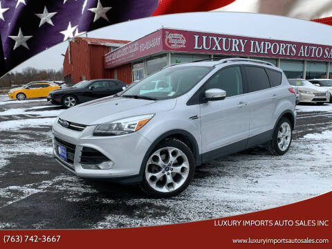 2013 Ford Escape for sale at LUXURY IMPORTS AUTO SALES INC in North Branch MN