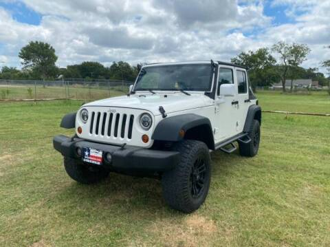 2010 Jeep Wrangler Unlimited for sale at LA PULGA DE AUTOS in Dallas TX