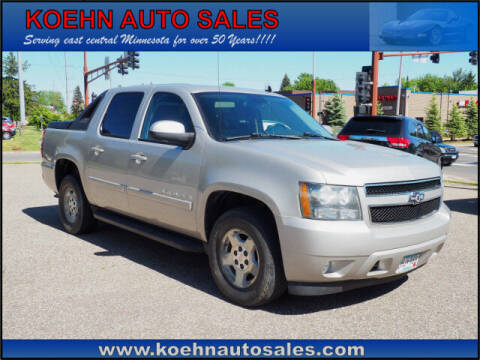 2008 Chevrolet Avalanche for sale at Koehn Auto Sales in Lindstrom MN