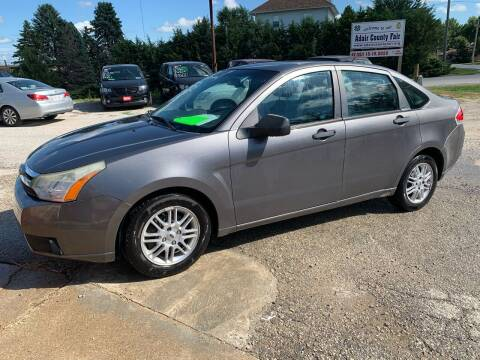 2009 Ford Focus for sale at GREENFIELD AUTO SALES in Greenfield IA