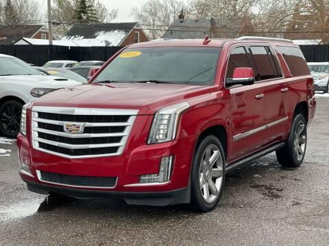 2015 Cadillac Escalade ESV for sale at Best of Michigan Auto Sales in Detroit MI