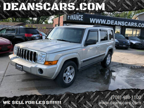 2008 Jeep Commander for sale at DEANSCARS.COM in Bridgeview IL