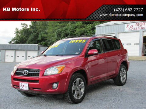 2012 Toyota RAV4 for sale at KB Motors Inc. in Bristol VA
