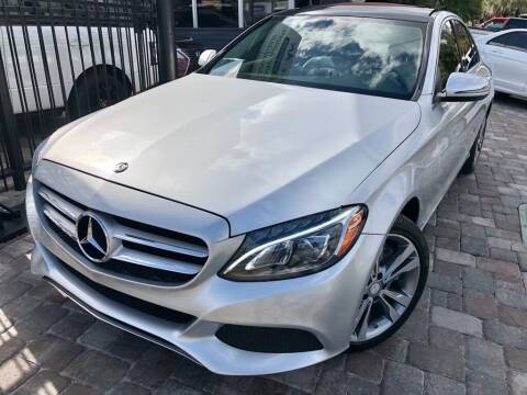 2017 Mercedes-Benz C-Class for sale at Unique Motors of Tampa in Tampa FL