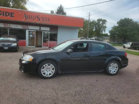 2014 Dodge Avenger for sale at RIVERSIDE AUTO SALES in Sioux City IA